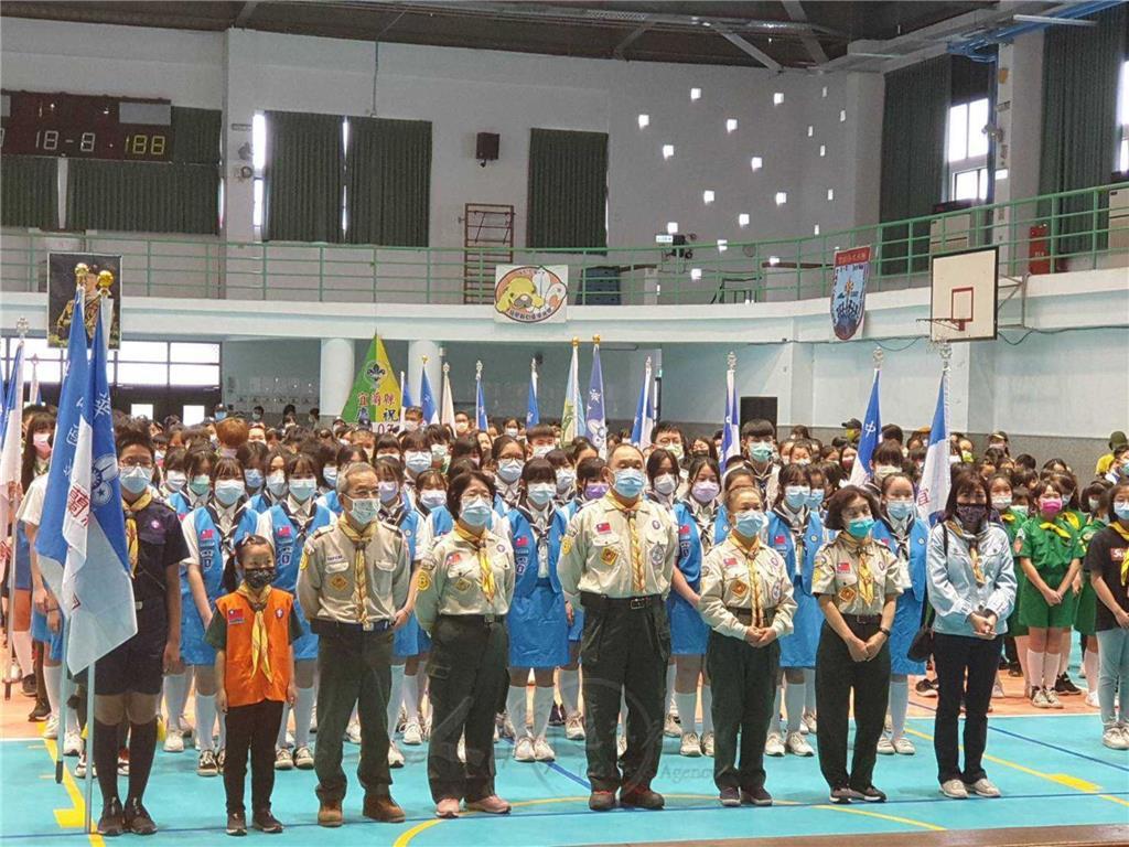 宜蘭縣童軍節慶祝大會 蘭陽佛光童軍團大放異彩