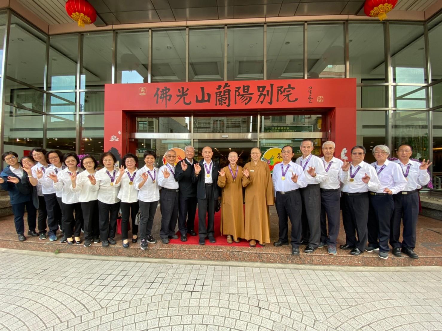 中華傳統宗教總會參訪宜蘭宮廟 凝聚信仰傳承共識