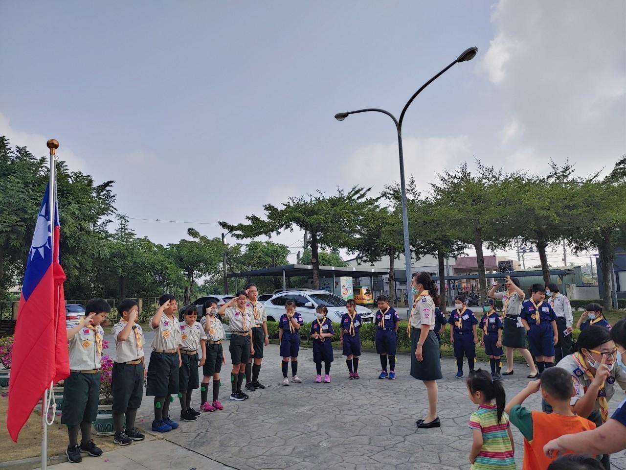 童軍團集會感覺訓練—探索靈敏身心感官訓練